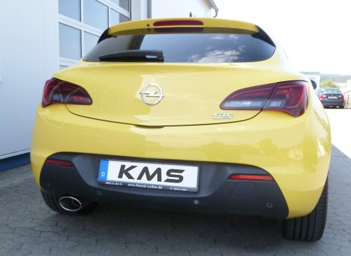 Opel Astra J (inkl. GTC) - 70mm Single Power Auspuffanlage