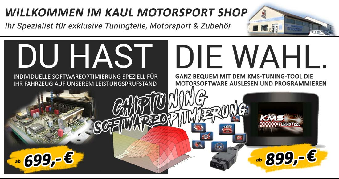 Chiptuning bei Kaul Motorsport in Bayern
